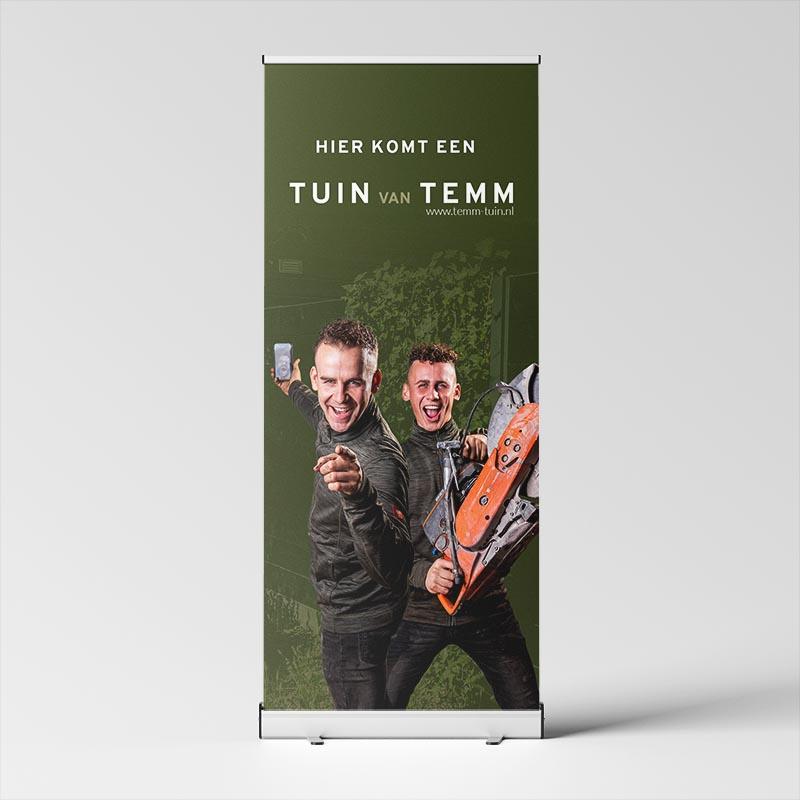 Straatbord TEMM & TUIN