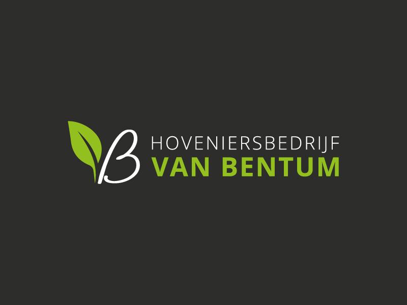 Logo ontwerp hoveniersbedrijf Van Bentum