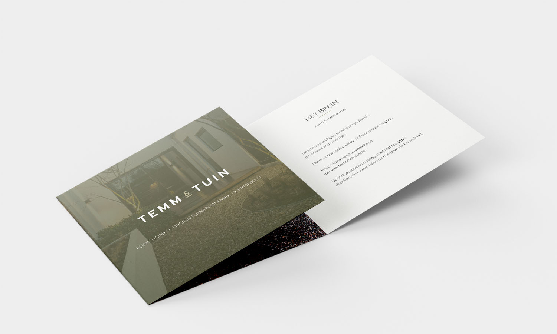 Flyer TEMM & TUIN